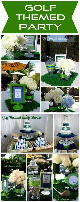 ideas  golf theme  pinterest golf party