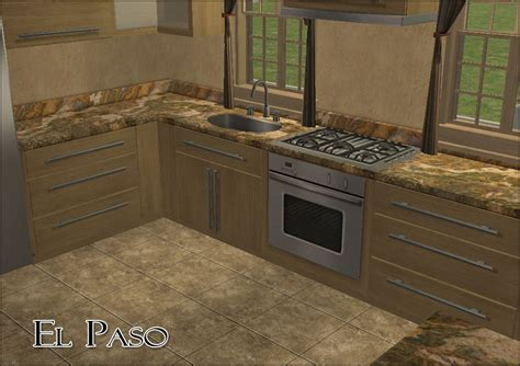 mod the sims a horde of granite countertops