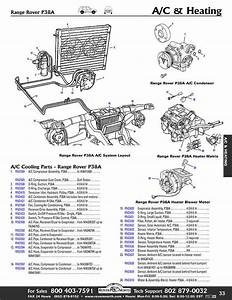 1995-1998 Range Rover P38a Air Conditioning  Cooling  U0026 Heating