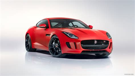 Jaguar F Type Coupe, Car, Red Cars, Vehicle, Gray