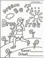 HD wallpapers coloring pages for red ribbon week dhdde3dtk