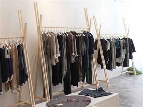 diy clothing rack diy your own sleek clothing rack with szeki chan