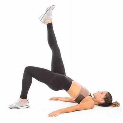 Tone Workouts Leg Lower Easy Bridge Quick
