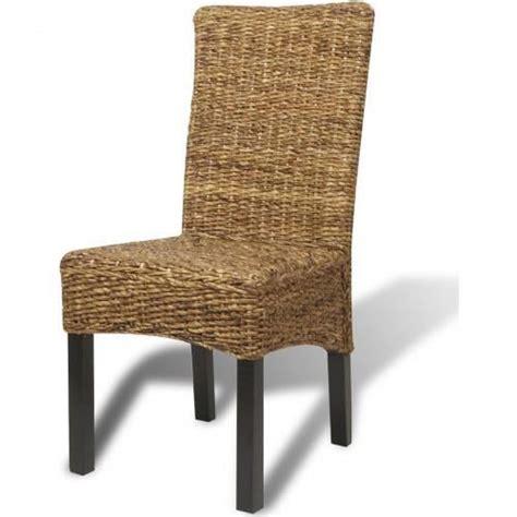 6 chaises pas cher ensemble de 6 chaises en bananier achat vente chaise salle a manger pas cher couleur et