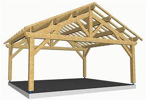 Charpente Traditionnelle Bois En Kit : charpente bois en kit pour garage ~ Premium-room.com Idées de Décoration