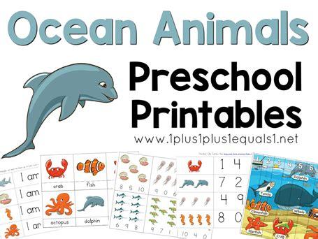animals preschool printables 1 1 1 1 765 | Ocean Animals Preschool Printables FB