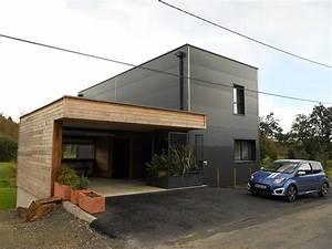 constructeur de maison en structure metallique fougeres 35 With maison en kit ossature metallique