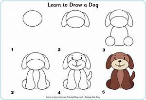How To Draw A Dog | How To Instructions
