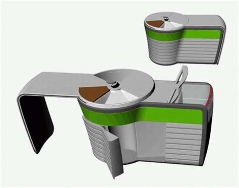 Portable Kitchens: Dzmitry Samal's 'Kitchen for Singles
