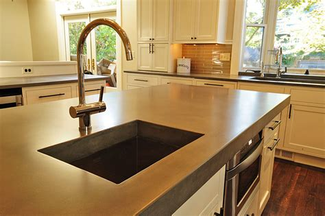 Diy Concrete Kitchen Countertops Iscareyoucom