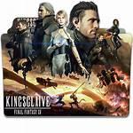 Fantasy Final Icon Folder Xv Kingsglaive Deviantart
