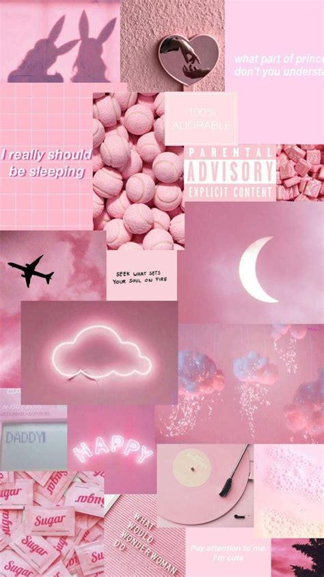 aesthetic pink wallpapers