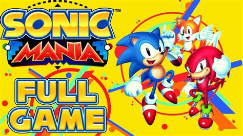 Full Game As Sonic & Tails (all Chaos