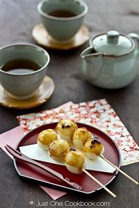 Mitarashi Dango | Recipe | Easy japanese recipes, Japanese ...