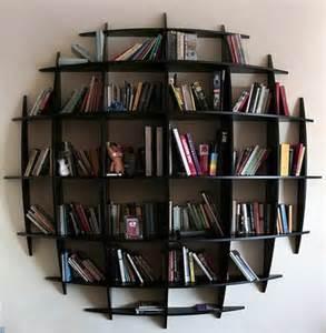 Contemporary Black Bookcase by Estantes Decorandoonline