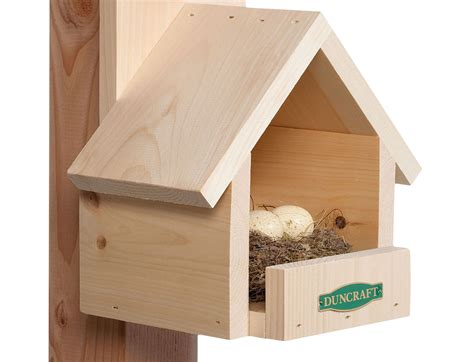 nesting shelves  cardinals duncrafts wild bird blog