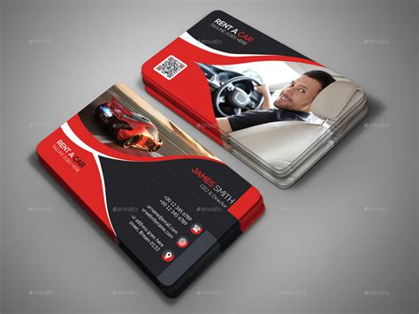 rent  car business card  designsign graphicriver