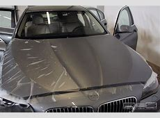 F10 BMW 5Series Gets Frozen Transparent Wrap for