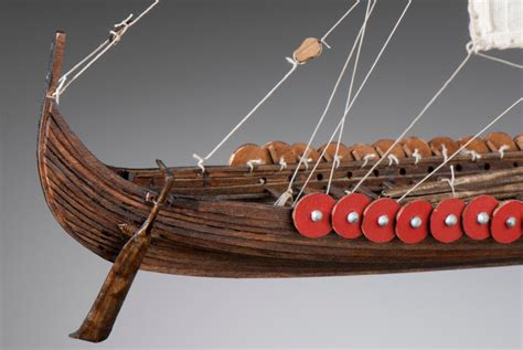 Viking Longboat Model by Viking Longship 1 72 Dušek Ship Kits