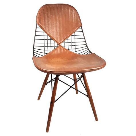 charles eames pkw 2 dowel leg swivel chair 1950s at 1stdibs