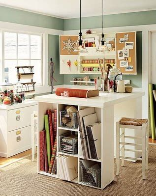 Craft Room Inspiration  Jenallyson  The Project Girl
