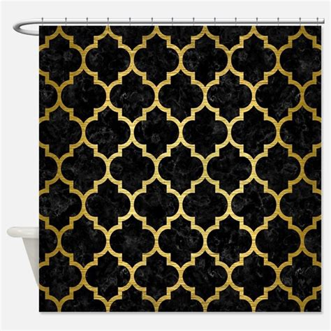 black and gold curtains black and gold shower curtains black and gold fabric shower curtain liner