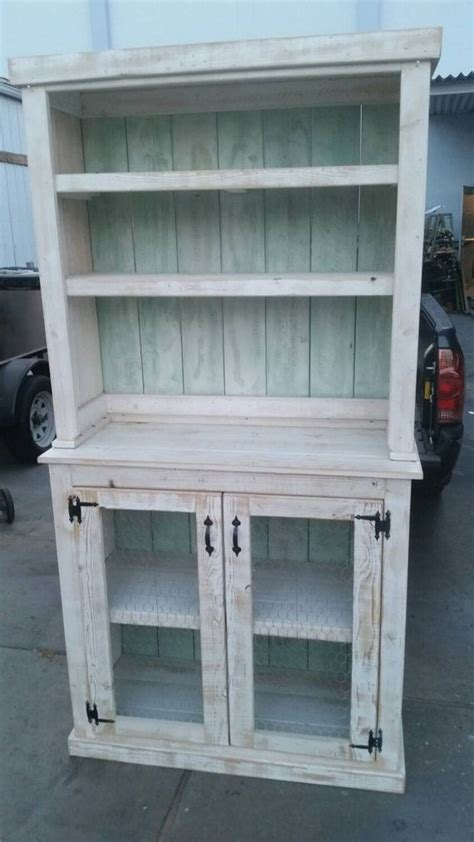 reclaimed wood hutch country style hutch rustic