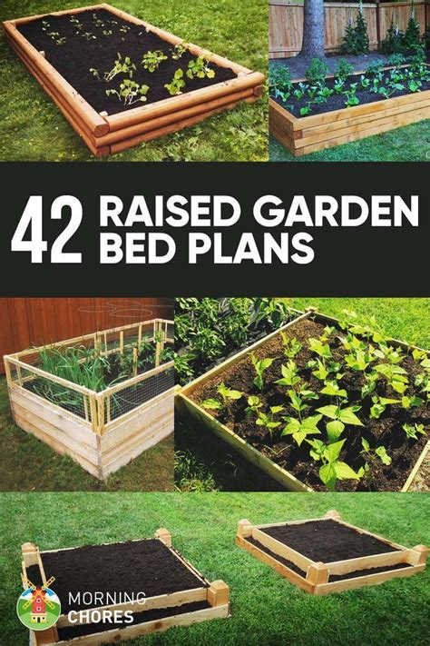 42 diy raised garden bed plans and ideas pinpoint