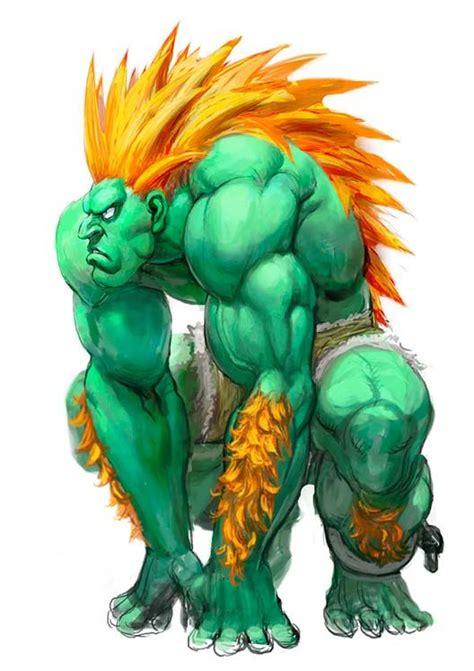 Blanka Of Street Fighter 4 Concept Art Character