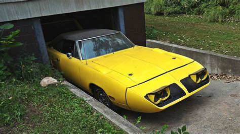 1970 Plymouth Superbird In The Basement