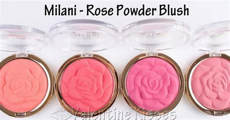 valentine kisses milani rose powder blush limited