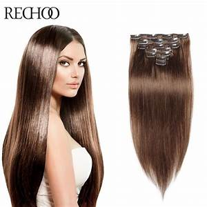 Buy Clip In Human Hair Extensions Brown