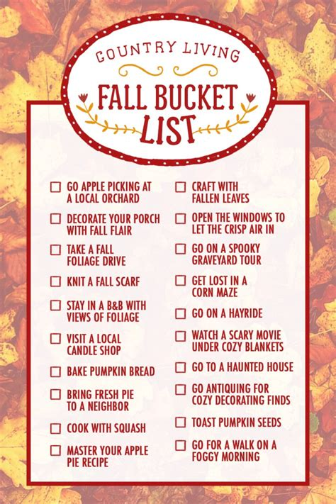 things to do in fall a lazy girl s fall bucket list tourwithbrielle