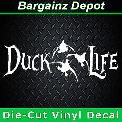 foto de Vinyl Decal DUCK LIFE Car Truck Laptop Hunt