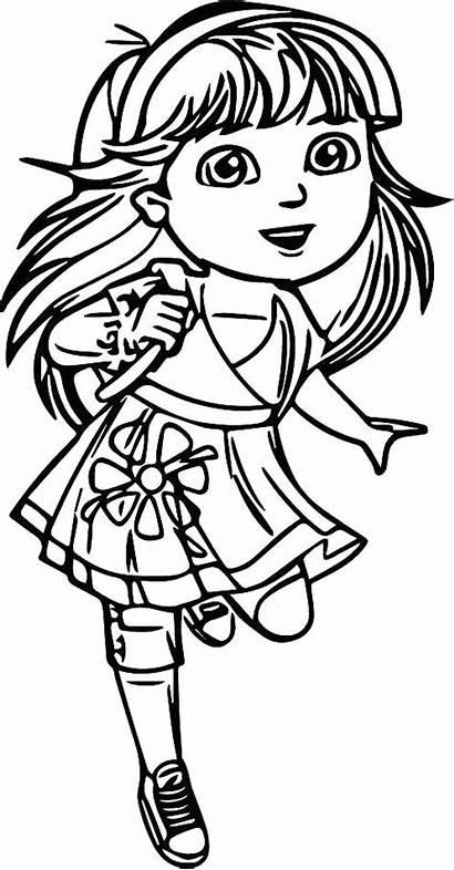 Coloring Pages Ninja Teenage Dora Turtles Drawing