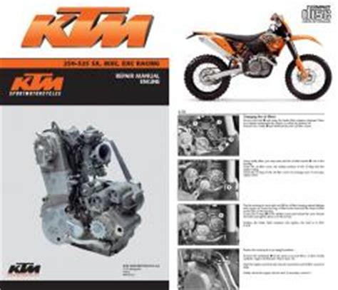 Ktm Mxc Exc Racing Service Repair