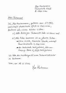 Testament Selbst Schreiben : testament erbschaft phil theol hochschule benedikt xvi heiligenkreuz ~ Eleganceandgraceweddings.com Haus und Dekorationen