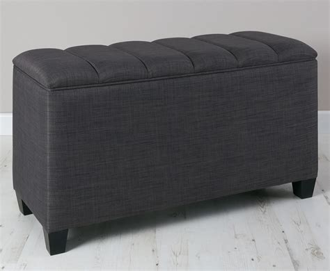 Ottoman Upholstery by Burgundy Upholstered Storage Ottoman Just Ottomans