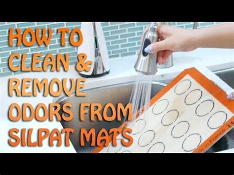 how to clean mat how to clean your silpat mat remove odors and 45