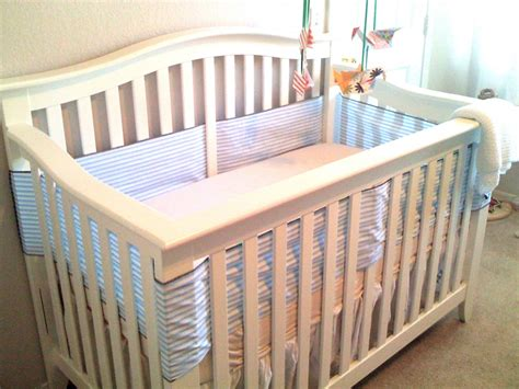 bumper pads for cribs crib bumper using only breathable cotton and no padding