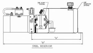 Electric Over Hydraulic Pump Wiring Diagram