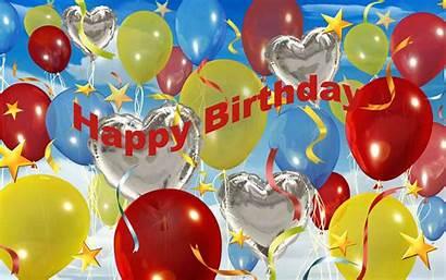 Birthday Happy 3d Wallpapers Background Bday Celebration