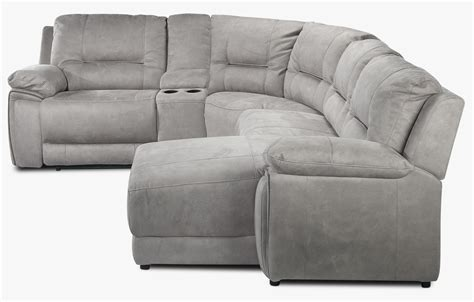 light gray sectional sofa with chaise pasadena 5 piece reclining sectional with right facing