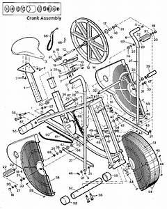 Weslo Exercise Bike Aero 800
