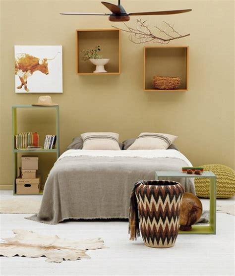 chambre style africain décoration et africain design intérieur en motifs