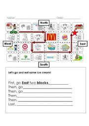 directions worksheets