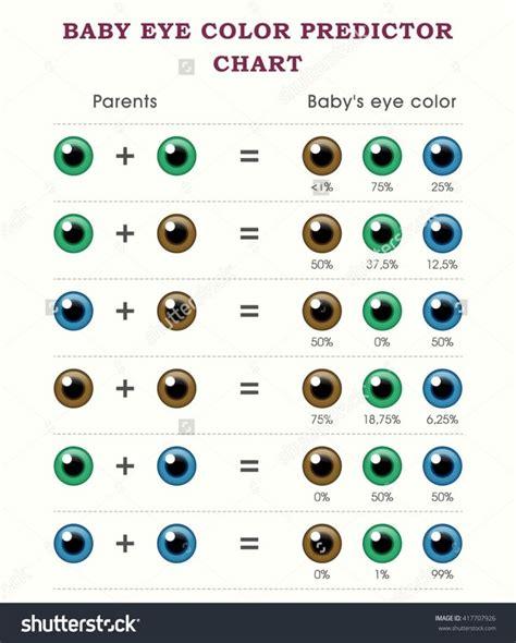 eye color chart best 25 eye colors ideas on