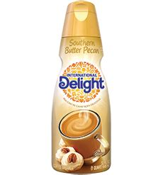 A warm, buttery blend filled with the rich flavors of caramel and nuts. Southern Butter Pecan Coffee Creamer   Coffee creamer, Butter pecan, Homemade coffee creamer