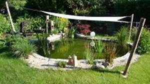 Brücke Für Gartenteich : gartenteich mit sonnensegel f r den teich ~ Whattoseeinmadrid.com Haus und Dekorationen