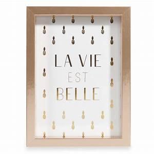 Maison Du Monde Cadre Photo : cadre photo dor 13x18cm goldy maisons du monde ~ Teatrodelosmanantiales.com Idées de Décoration